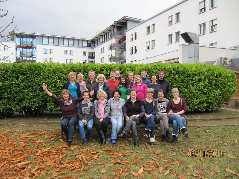 Gruppenbild vom Chorwochenende 2016 in Darmstadt